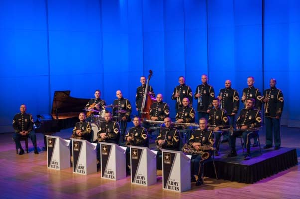 The US Army Blues with Gettysburg College Jazz Ensemble