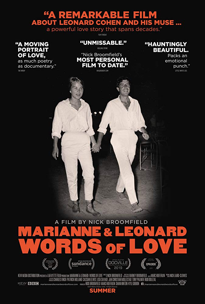 Marianne and Leonard poster