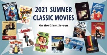 2021 Summer Classic Movies